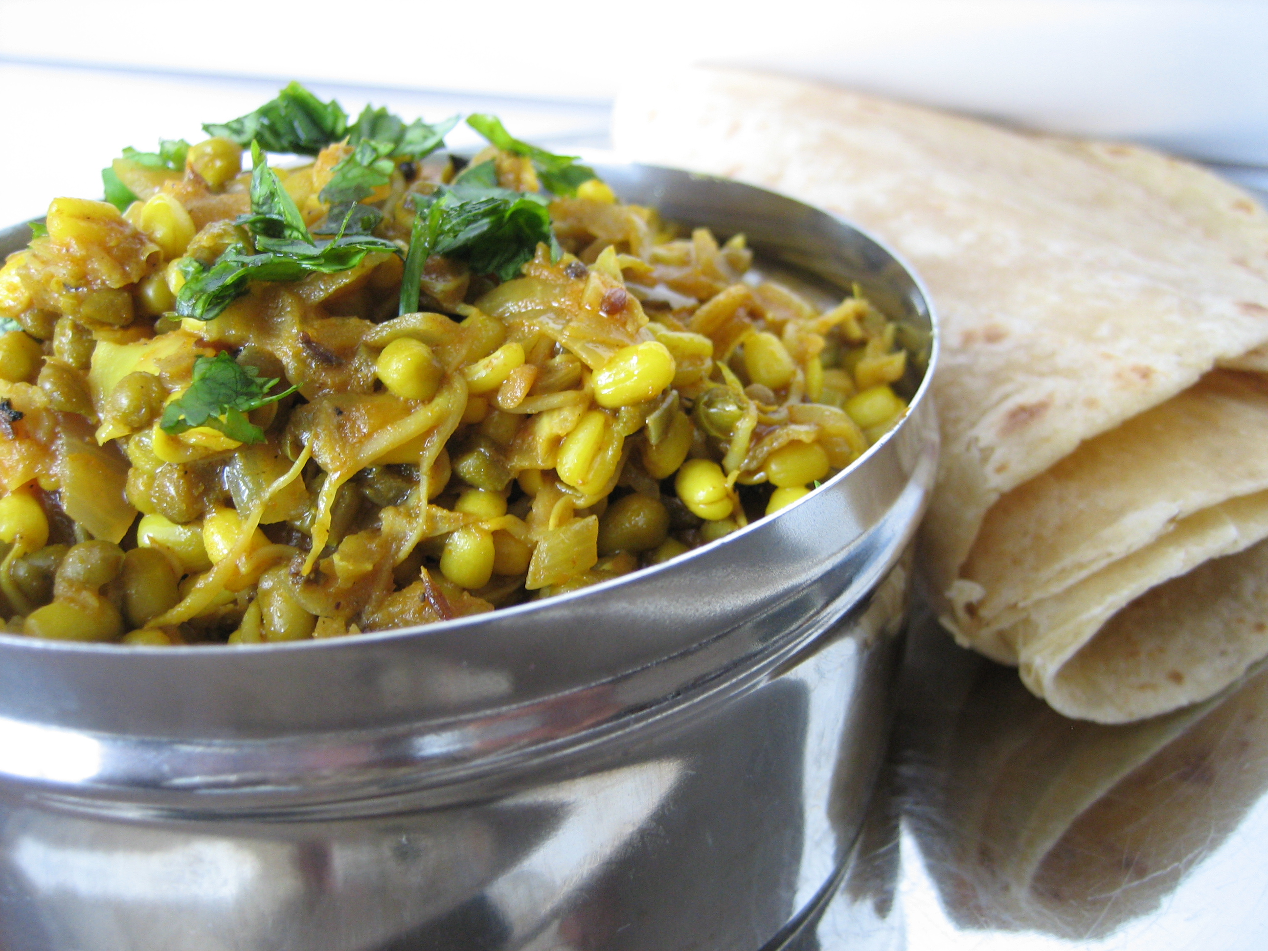 Curried-Moong-Sprouts