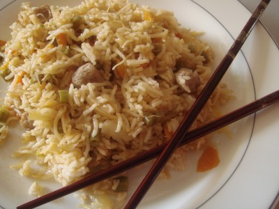SoyaChunks Fried Rice
