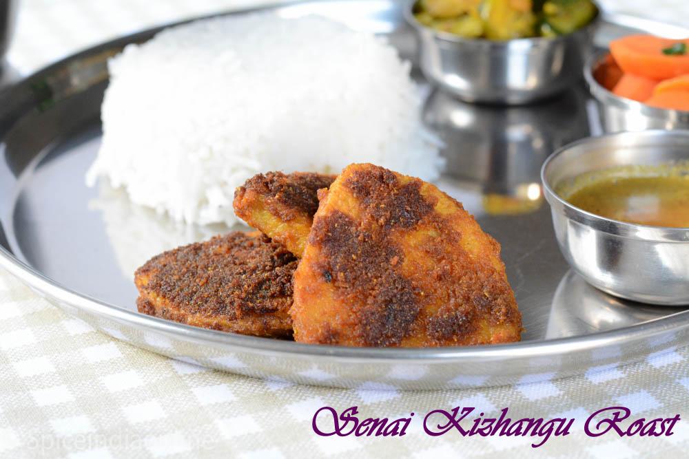 Elephant Yam Fry- Senai Kizhangu Roast 10