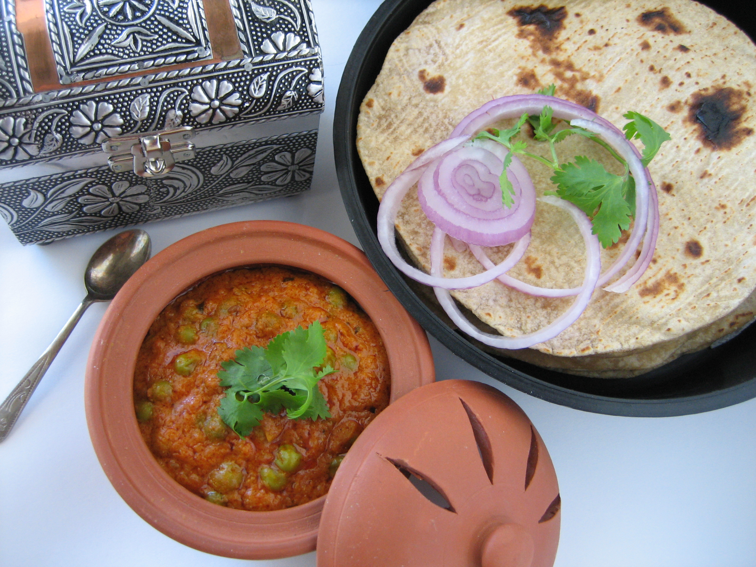 Green-Peas-Subzi-Dhaba-Style