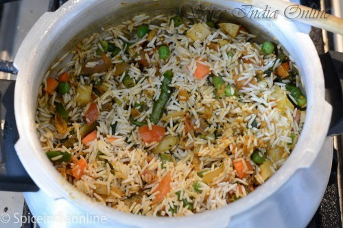Kaikari Biryani - Chettinad Vegetable Biryani  6