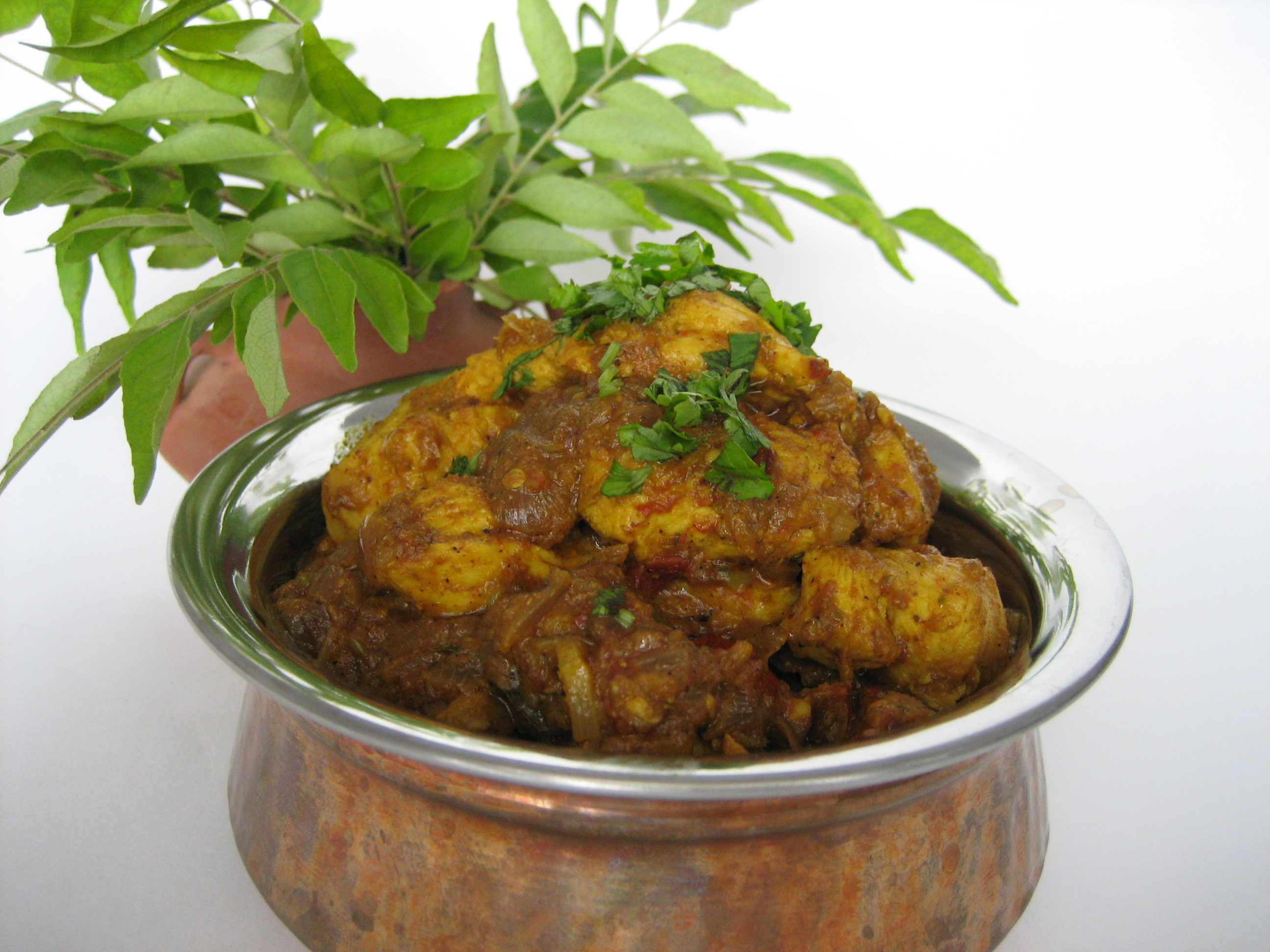 Karuveppilai Chicken Fry