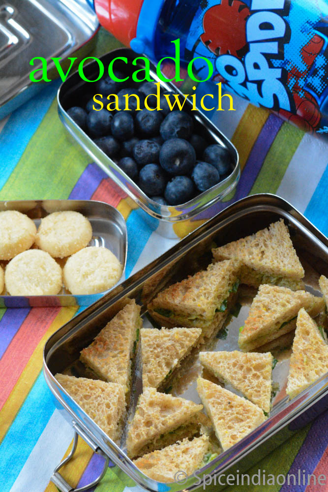 Kids Lunch Box 10 Avocado Sandwich 2