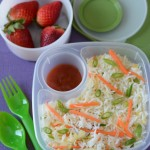 Kids School Lunch Box 3 -Veg Fried Rice