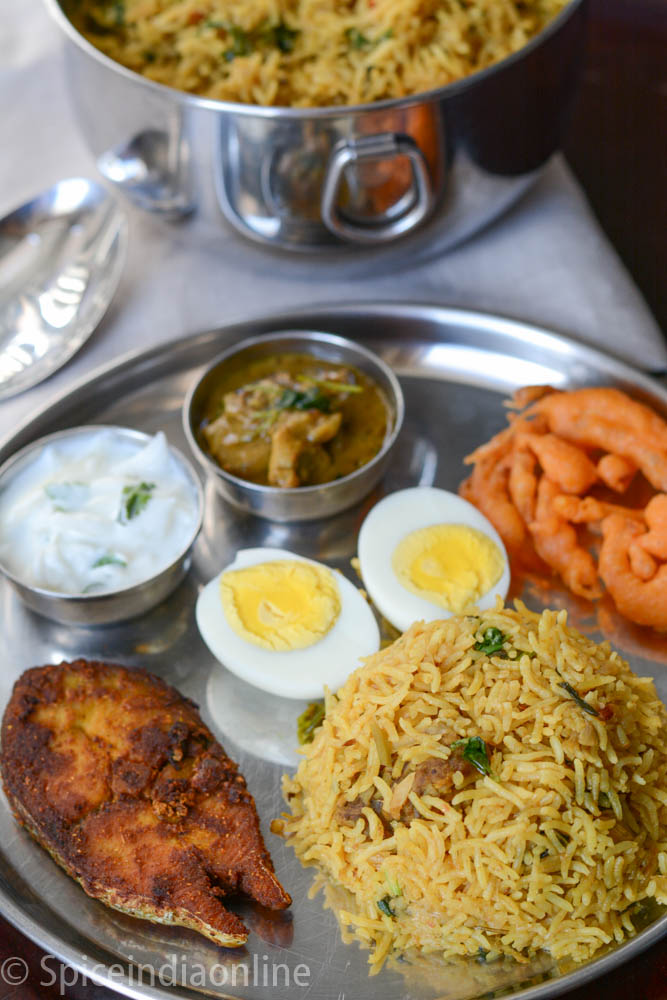 Lunch Dinner Menu 4  south Indian Non vegetarian lunch menu