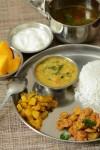 Lunch /Dinner Menu 4 South Indian Vegetarian Menu