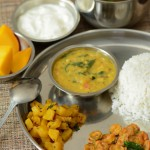 Lunch /Dinner Menu 4 South Indian Vegetarian Menu