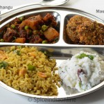 Lunch / Dinner Menu 6 – South Indian Vegetarian Lunch Menu 1