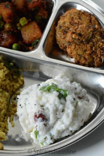 Lunch / Dinner Menu 6 – South Indian Vegetarian Lunch Menu 3
