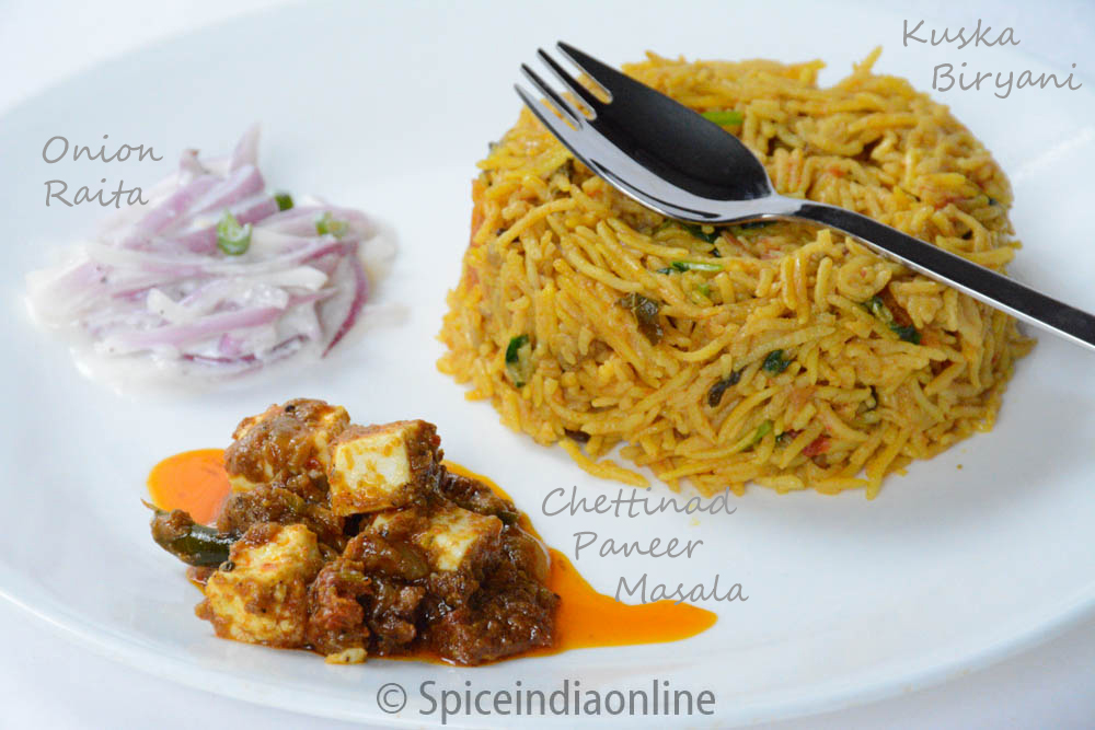 Chettinad paneer masala archives spiceindiaonline lunch dinner menu 7 south indian vegetarian lunch menu recipes forumfinder Gallery
