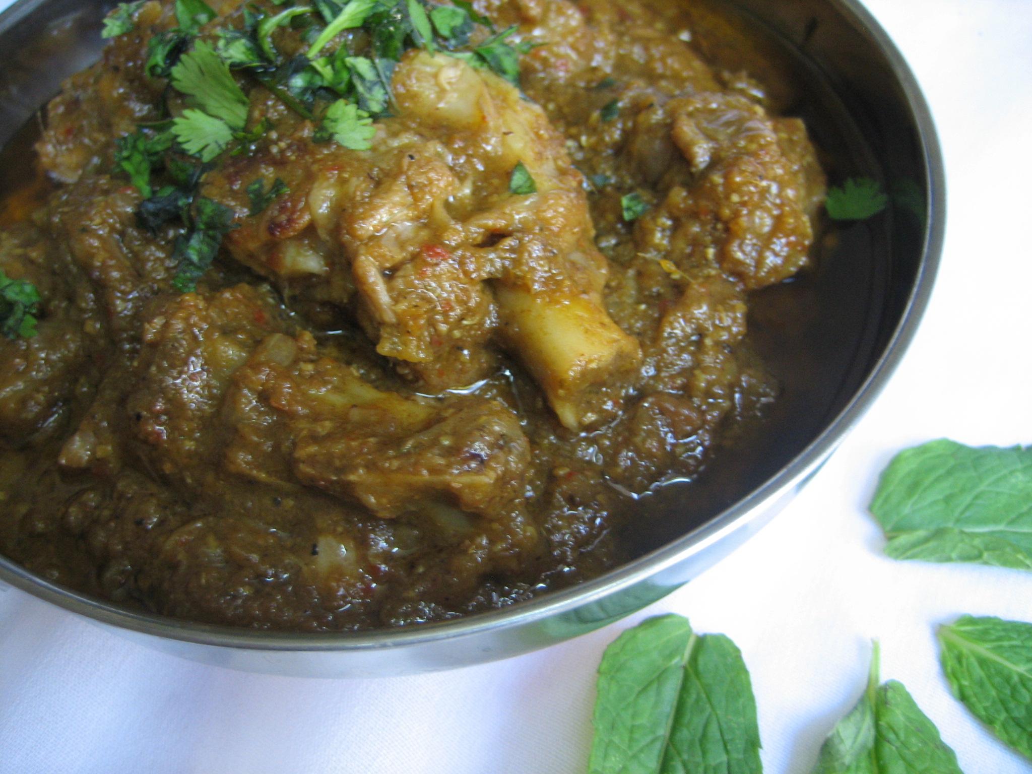Mughalai-Mutton