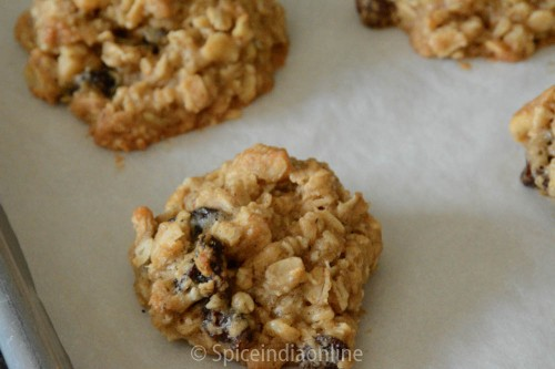 Oatmeal Raisin Walnut Cookies 6