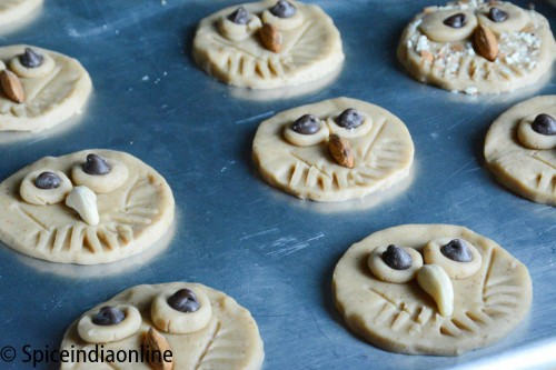 Owl Shortbread Cookies4