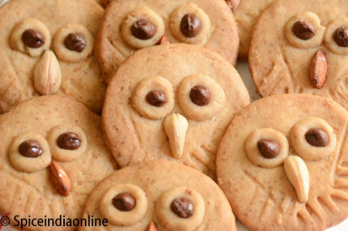 Owl Shortbread Cookies8