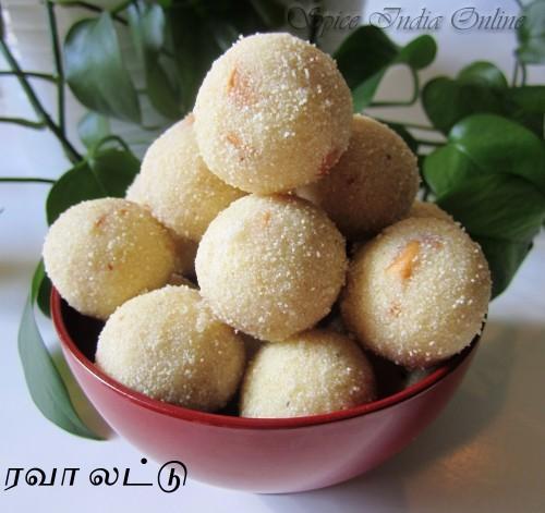 Rava Laddu 8