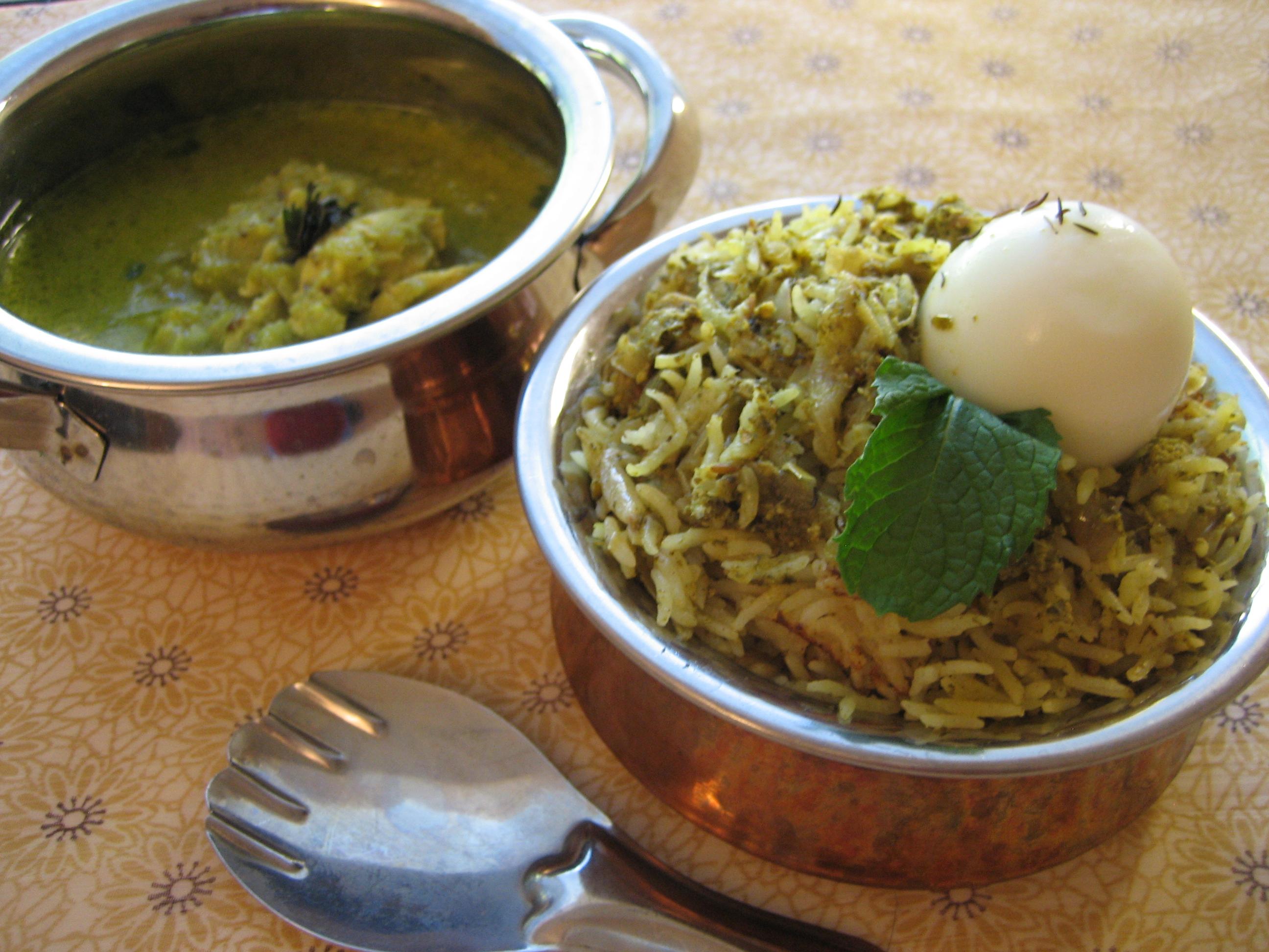 Sindhi-Mint-chicken-Biryani