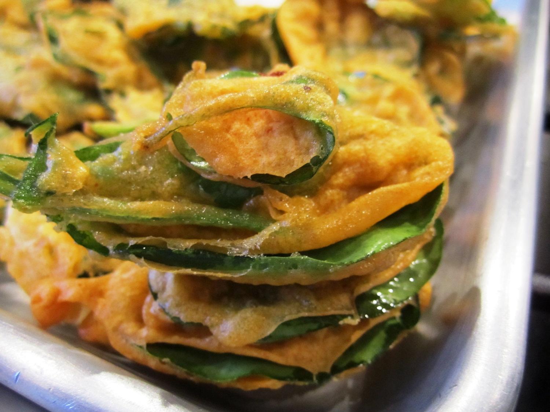 Spinach pakora 9