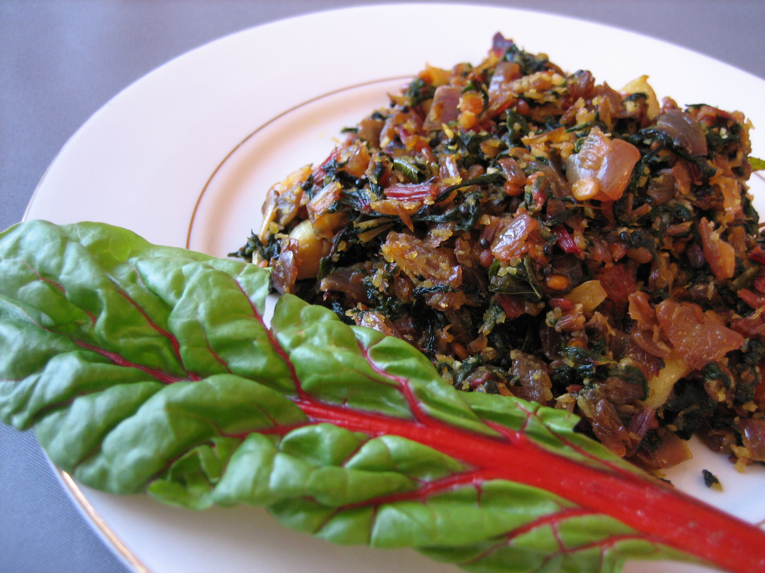 Swiss-Chard-Poriyal