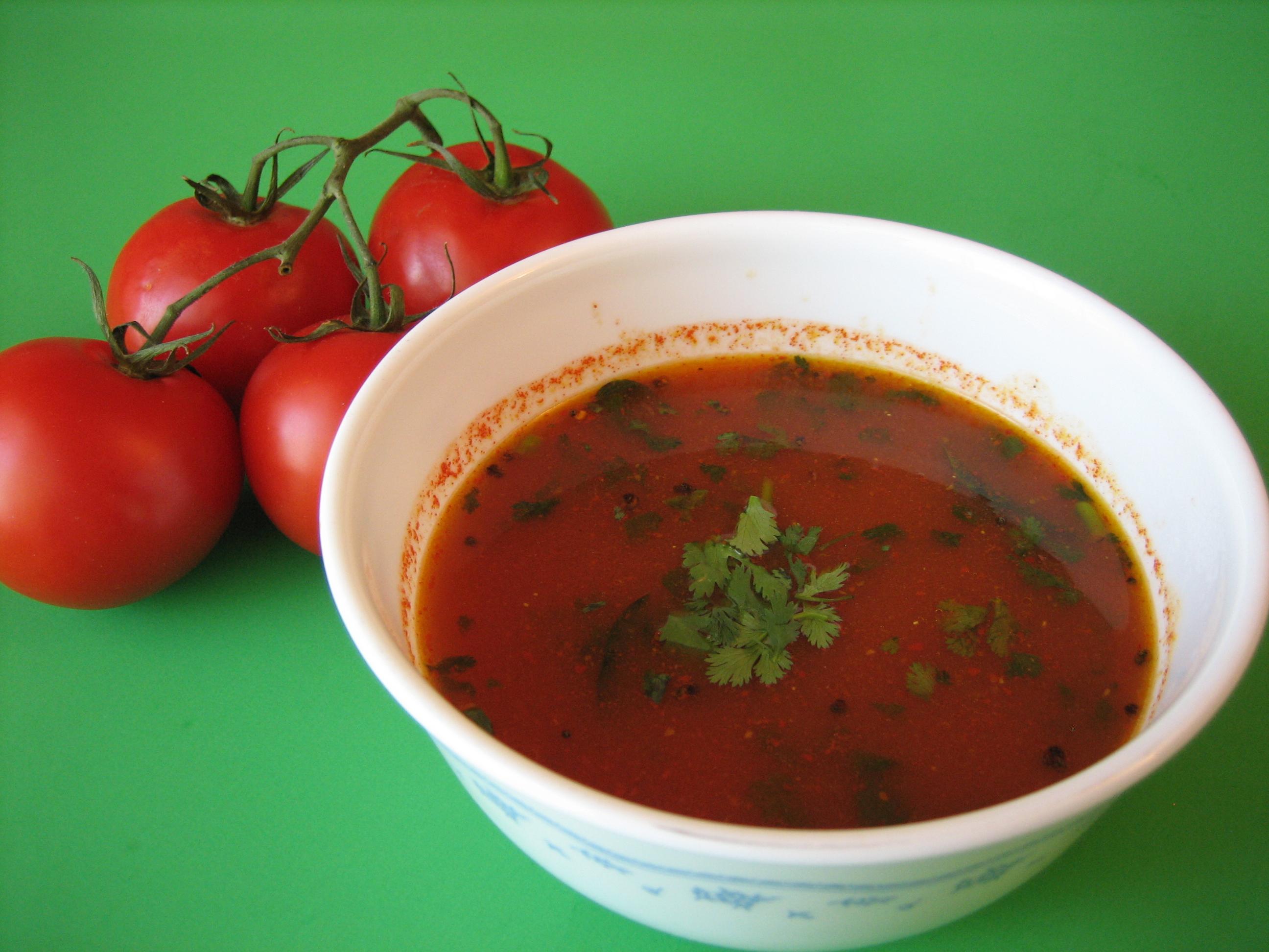 Tomato Rasam Spiceindiaonline