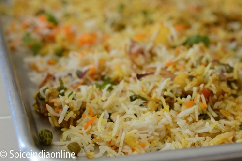 Vegetable Dum Biryani 19