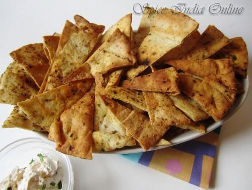 baked pita chips 6