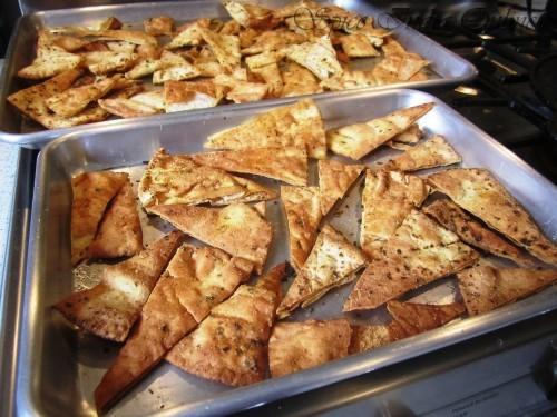 baked pita chips5