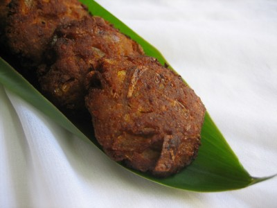 Minced Meat Vadai