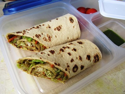 Work Lunch Box 1 – Make-Ahead Lunch Wraps