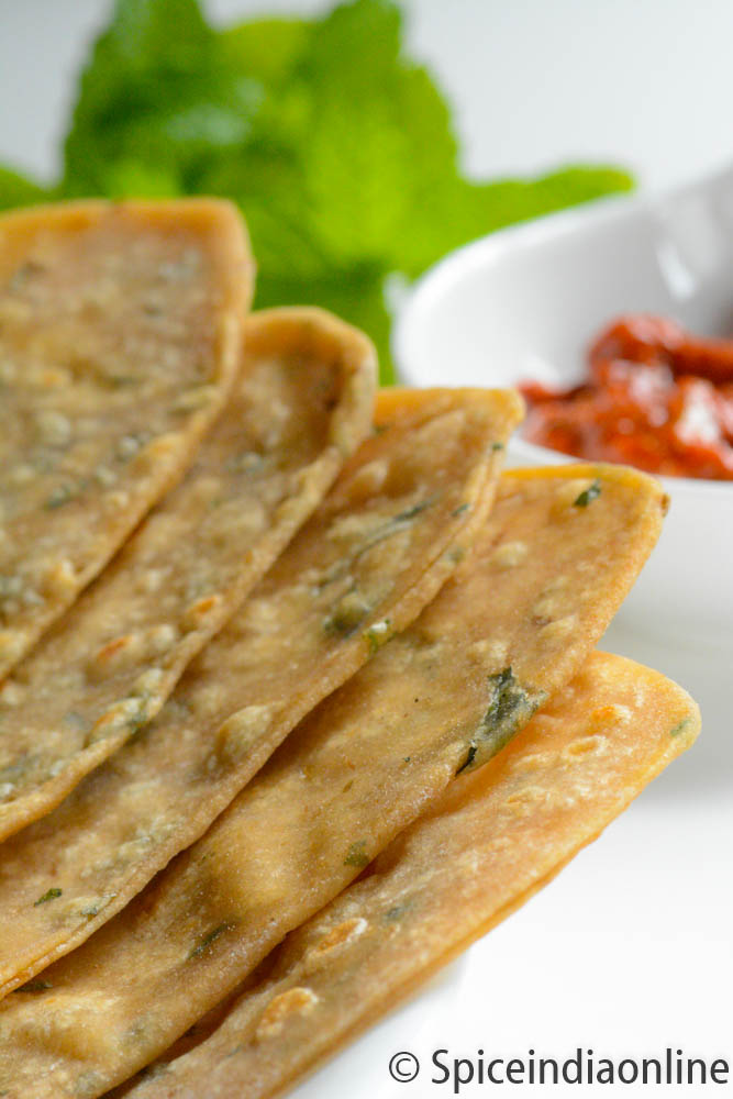 MINT PARATHA RECIPE – Pudina Paratha | Spiceindiaonline