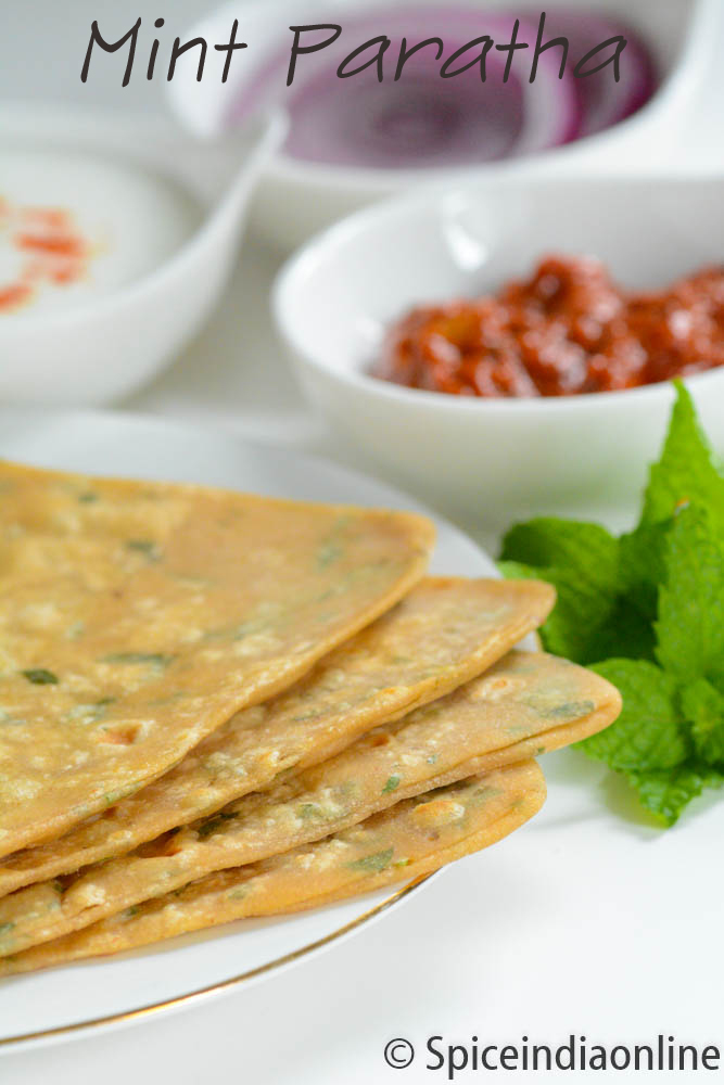 yogurt lets learn how to make these scrumptious mint parathas