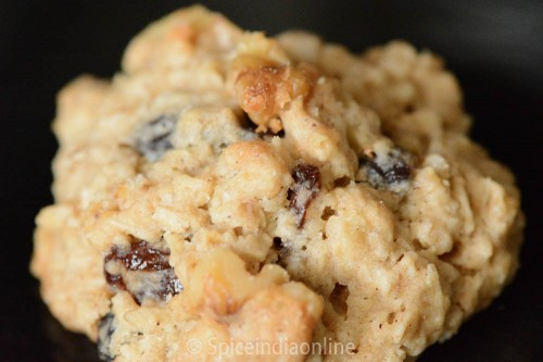 oatmeal Raisin Walnut Cookies 7