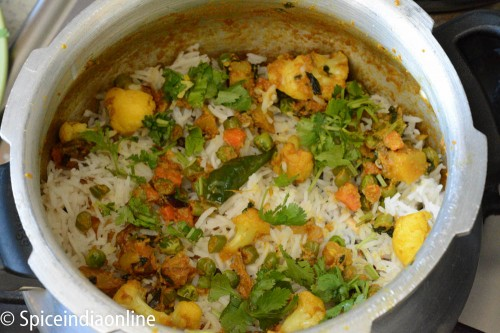 vegetable Dum Biryani 12